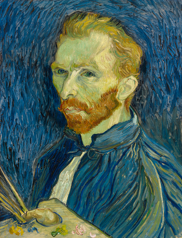 Vincent van Gogh (Dutch, 1853–1890), Self-Portrait, 1889