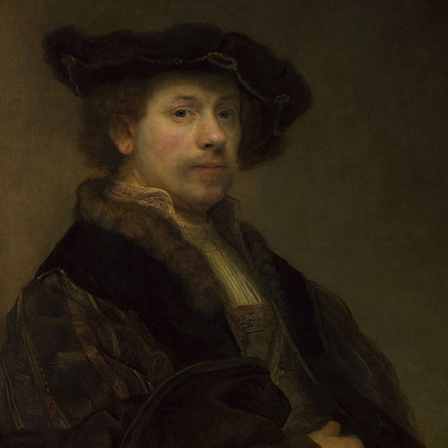 Rembrandt's 'Self Portrait at the Age of 34' on loan from The National Gallery, London