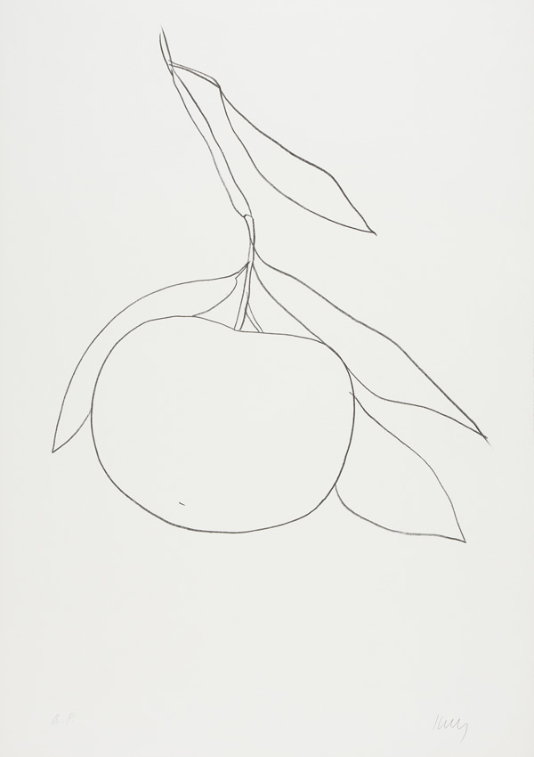"Kelly's lithography ""Tangerine"""
