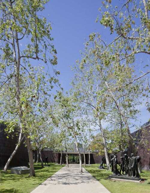 A Walk Through the Garden. Main Entrance & Parking Area