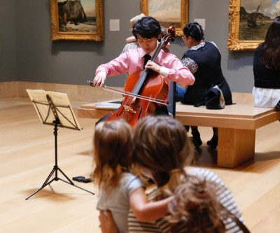Music in the galleries