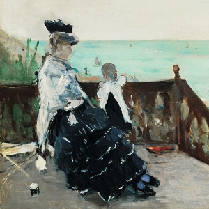 Morisot's In a Villa at the Seaside