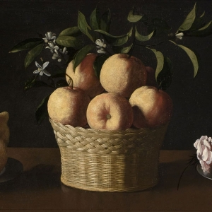 Zurbarán's Still Life with Lemons, Oranges and a Rose